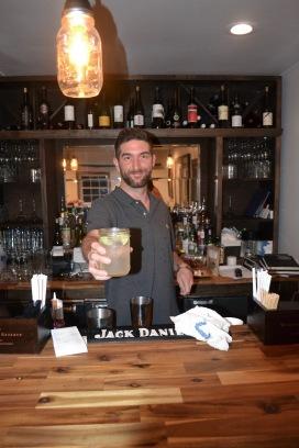 Brandon, the bar guy!